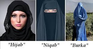 Nikab,Burka Hijab